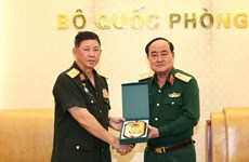 Mejoran Vietnam y Laos la cooperación  en logística militar