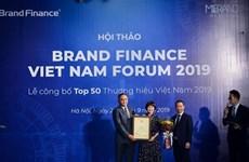 Viettel encabeza lista de las 50 marcas más valiosas de Vietnam