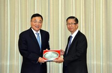 Intensifican cooperación Ciudad Ho Chi Minh y provincia china de Jiangsu
