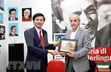 Fortalecen relaciones entre partidos comunistas de Vietnam e Italia
