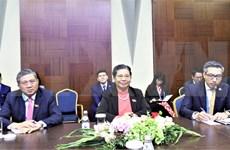 Llama Vietnam a promover cooperación entre parlamentos de países de Eurasia