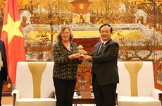 Aspira Hanoi a cooperar con localidades y empresas francesas