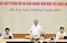 Califica primer ministro de Vietnam desembolso de inversiones públicas como tarea política apremiante