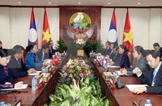 Parlamentos de Vietnam y Laos buscan agilizar cooperación en sus labores