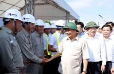 Supervisa primer ministro vietnamita construcción de autopista Trung Luong - My Thuan