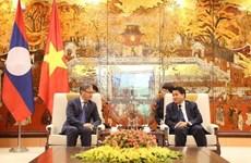 Amplía Hanoi los nexos con localidades laosianas