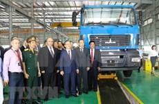 Inaugura Belarús  en Vietnam la fábrica automovilística Maz Asia