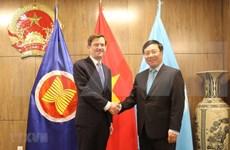 Cumple viceprimer ministro vietnamita amplio programa de actividades en Naciones Unidas