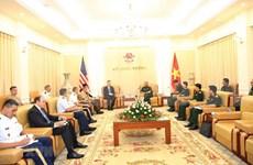 Aspiran Vietnam y Estados Unidos a fortalecer los vínculos militares