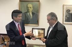 Partidos comunistas de Vietnam y Grecia intensifican relaciones