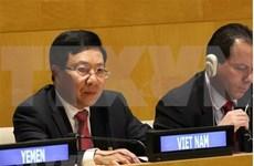 Vicepremier vietnamita participa en la conferencia del G77