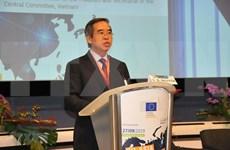 Vietnam patentiza apoyo a conexiones euroasiáticas
