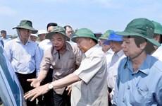 Premier de Vietnam exige esfuerzos para evitar deslizamientos de tierra en delta de Mekong