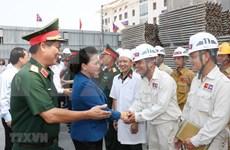 Continúa presidenta parlamentaria vietnamita visita a Laos