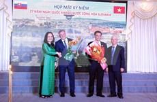 Robustecen amistad entre Vietnam y Eslovaquia