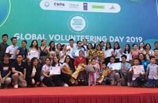Participan jóvenes nacionales y extranjeros en Festival Mundial del Voluntariado en Vietnam