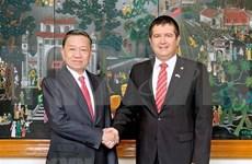 Promueven cooperación entre Vietnam y República Checa en lucha anticriminal