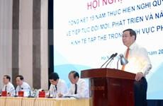 Evalúa Vietnam desarrollo de economía colectiva en sector no agrícola