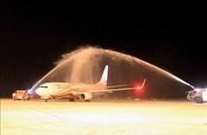 Inauguran ruta aérea internacional entre ciudades de Vietnam y China