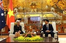 Intensifican relaciones entre Hanoi y el estado australiano de Victoria