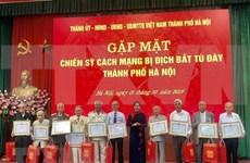 Honran en Hanoi a expresos revolucionarios