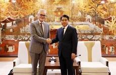Fomenta Hanoi relaciones cooperativas con Alemania