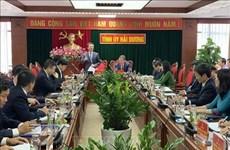 Promueven en Provincia vietnamita de Hai Duong avances en infraestructura de Tecnología de la Información