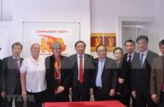 Concluye delegación partidista vietnamita visita a Reino Unido