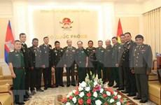 Intercambian  experiencias Vietnam y Camboya sobre mantenimiento de la paz