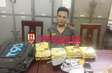 Capturan en Vietnam a traficante de metanfetamina
