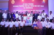 Inauguran en Indonesia corresponsalía de radioemisora Voz de Vietnam