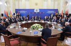 Firman Unión Económica Euroasiática y Singapur Tratado de Libre Comercio