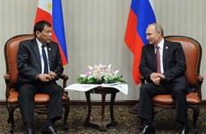 Visita Rusia el presidente de Filipinas