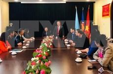 Intercambian Vietnam y Ucrania experiencias en administración pública