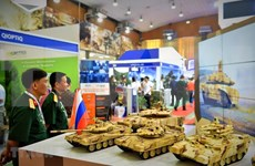 Inauguran en Vietnam Exposición Internacional de Defensa y Seguridad