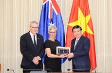 Promueven nexos entre Ciudad Ho Chi Minh y estado australiano en educación