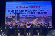 Lanza provincia vietnamita de Hai Duong plataforma de servicio gubernamental