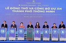 Inician en Hanoi mayor proyecto de urbe inteligente en Vietnam