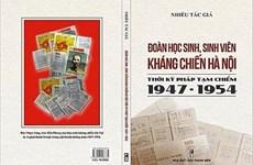 Presentan libro sobre los estudiantes rebeldes de Hanoi durante la ocupación francesa