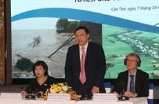 Debaten en Vietnam sobre políticas y leyes para enfrentar el cambio climático