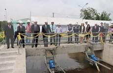 Inauguran planta de tratamiento de aguas residuales en ciudad vietnamita de Long Xuyen