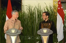 Visita presidente de Indonesia a Singapur