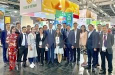 Participa Vietnam en Feria Internacional de Alimentos en Alemania