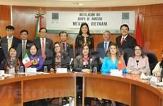 Presentan en México Grupo Parlamentario de Amistad con Vietnam de la actual legislatura