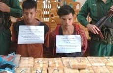 Incautan 100 mil tabletas de metanfetamina transportada de Laos a Vietnam