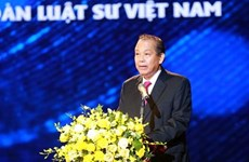 Conmemoran Día Tradicional del Abogado de Vietnam