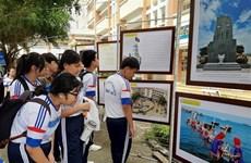Inauguran en Long An exhibición digital sobre soberanía vietnamita sobre Hoang Sa y Truong Sa