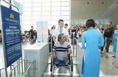 Lanza Vietnam Airlines formulario en línea de registro de servicios especiales