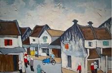 Renueva tecnología moderna experiencias de pinturas icónicas sobre Hanoi