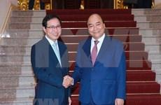 Propuso Vietnam apoyo de Samsung a construcción de gobierno electrónico